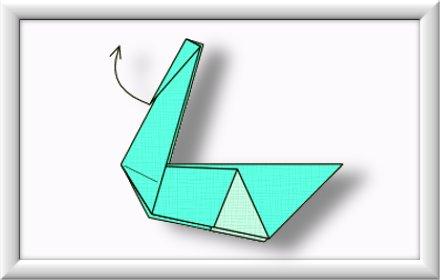 美しい伝統的な折り紙白鳥を折るには-方法-ステップ-009
