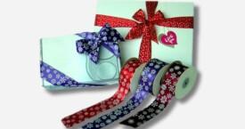 缎带礼品花
