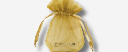金色雪纱礼品袋