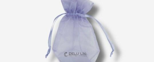 紫丁香雪纱礼品袋
