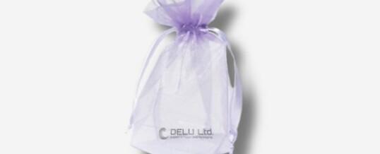 紫罗兰雪纱礼品袋