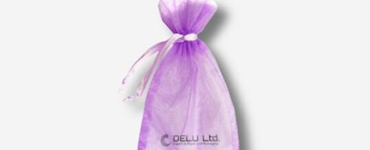 紫水晶雪纱礼品袋