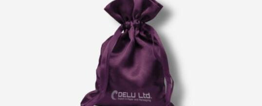 紫色色丁布袋