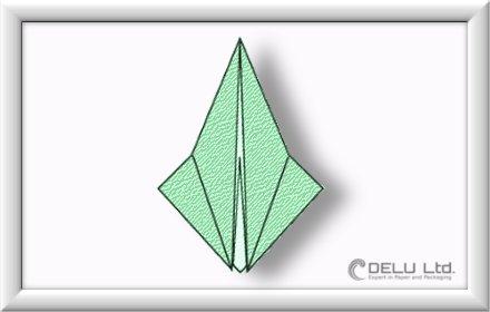 如何折千纸鹤-步骤-006