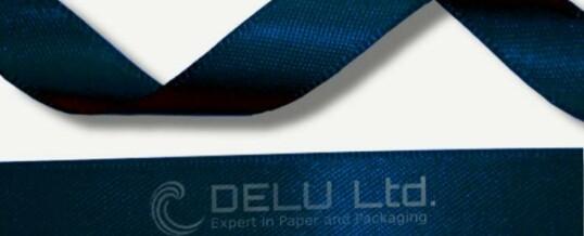 深蓝色丝带