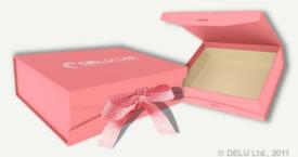 相片丝带盒 粉红