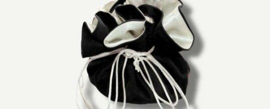 珠宝束口袋 黑色