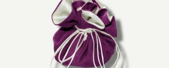 珠宝束口袋 浅紫色