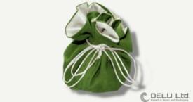 珠宝束口袋 绿色
